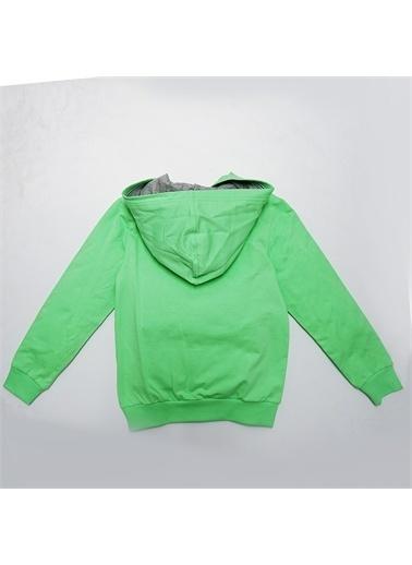 Panço Basic Fermuarlı Sweat 9930300100 Yeşil